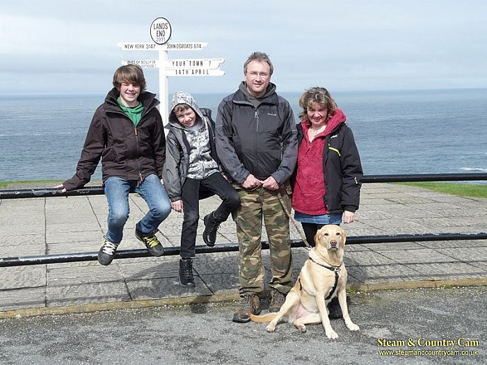 The Wakelins at Lands End