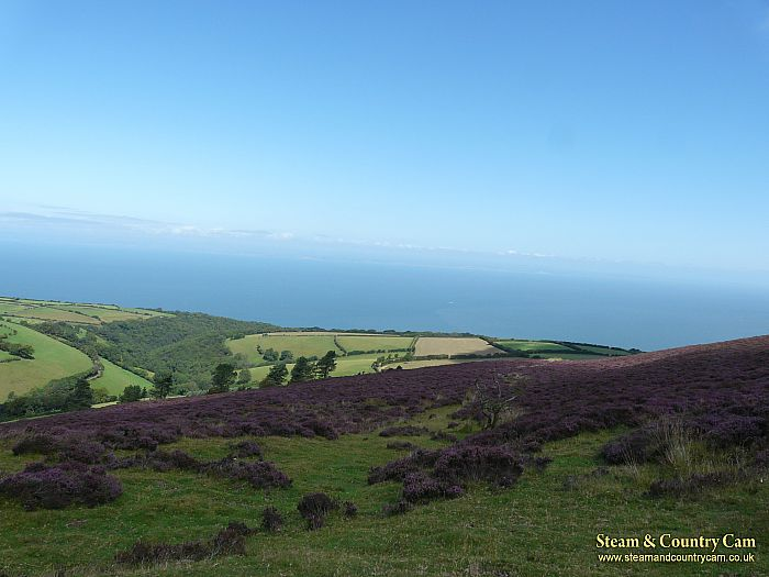 From the top of Exmoor again.... Beautiful.