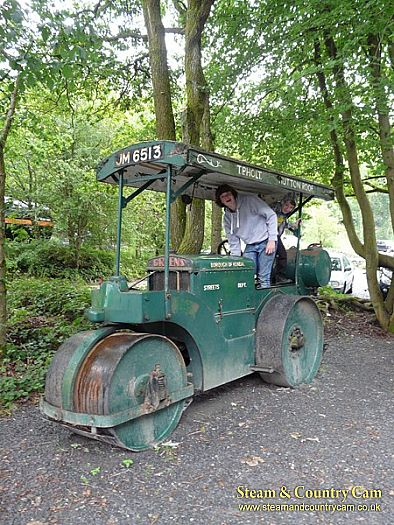 Aveling and Barford Diesel roller