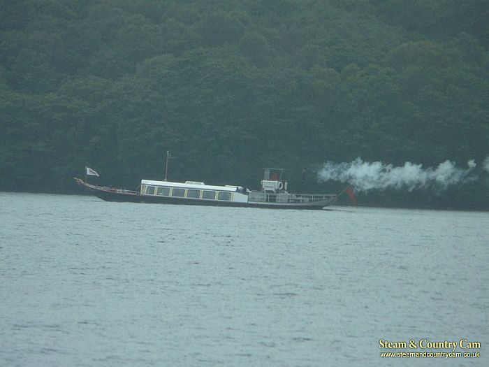 Steam Gondola on Coniston