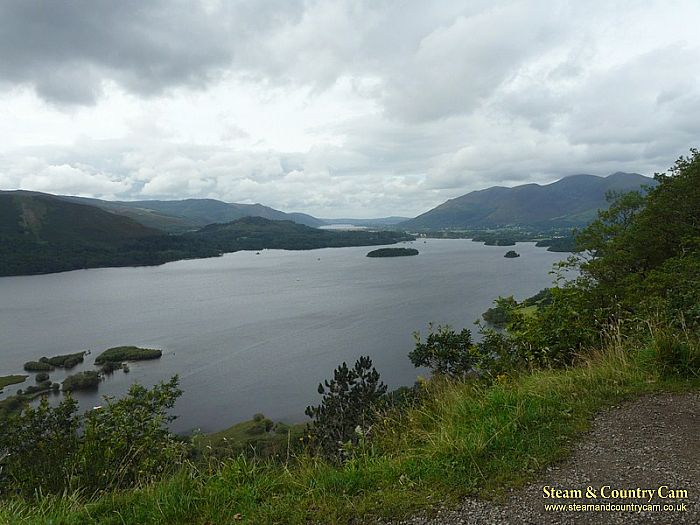 Looking out over Derwent Water