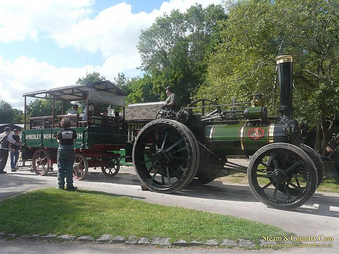 Marshall traction engine