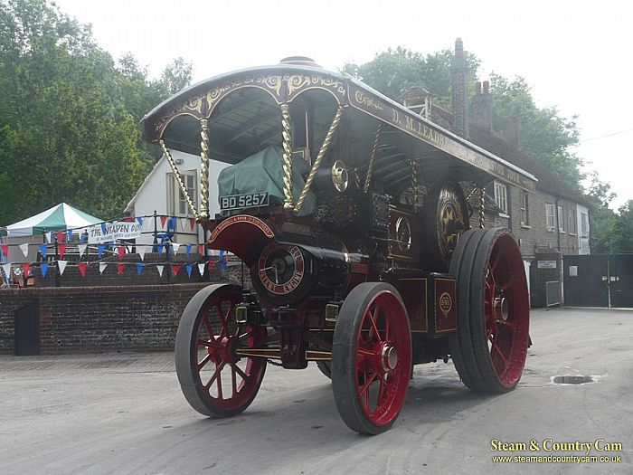 Burrell Showmans engine
