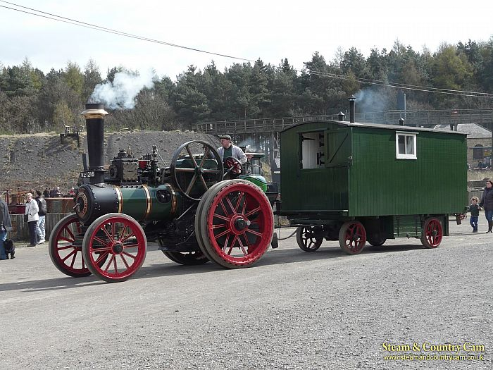 Clayton Traction Engine and Living Van