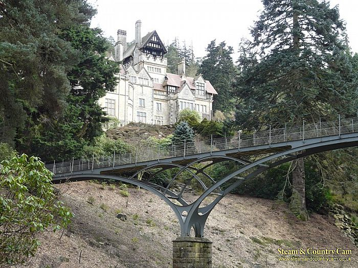 Another of the house and bridge