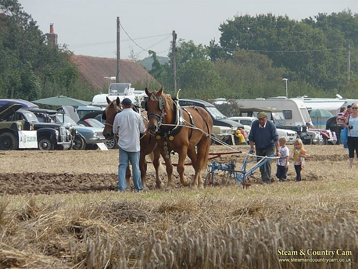 More ploughing
