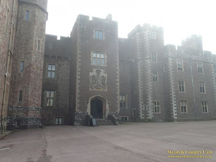 Front of the castle